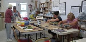 Indoor mosaic class