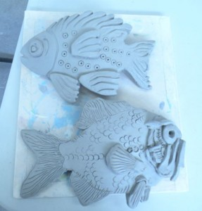 clay plaques